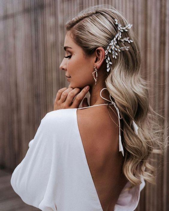 tóc đẹp cô dâu