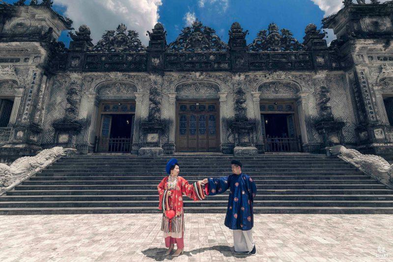 chụp ảnh cưới đẹp ở Huế