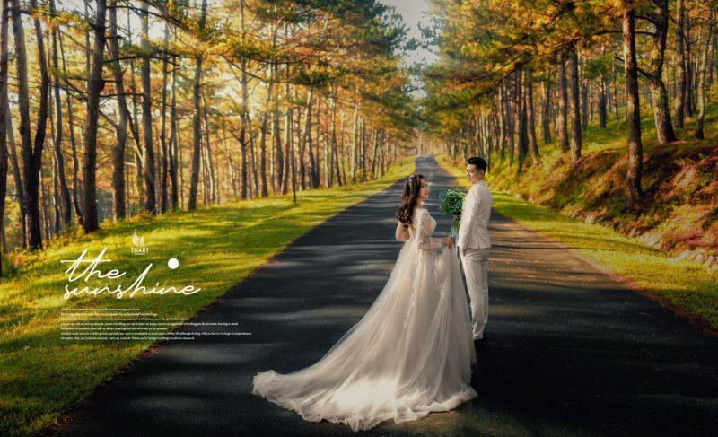 chụp ảnh cưới đẹp gia lai