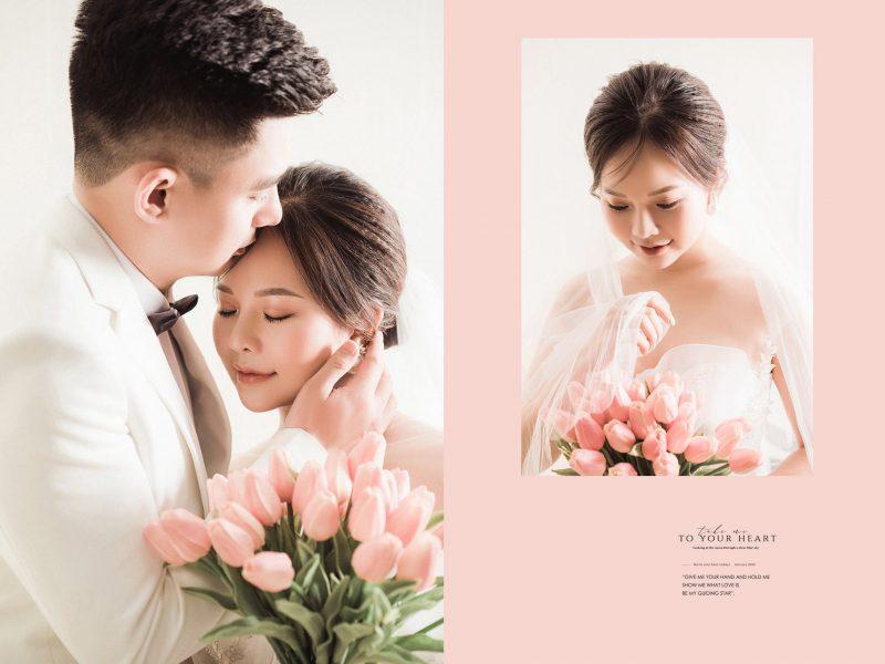 chụp ảnh cưới phóng to