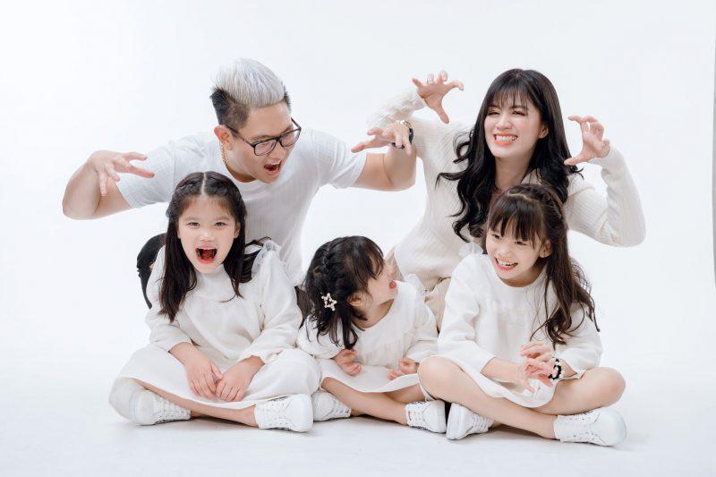 chụp hình gia đình hồ chí minh